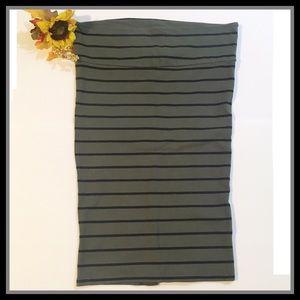 Torrid Striped Skirt
